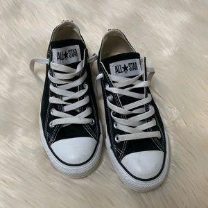 Converse Allstars, Black + White, Women's 7/Men 5